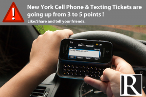 new cell phone law in New York State