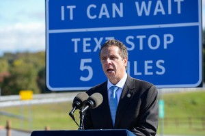 Gov Cuomo introducing NY's new Texting Zones