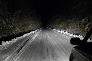 NY Driver Flashing Headlights