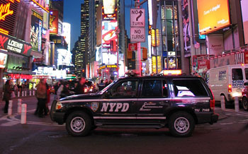 NYPD Traffic Enforcement Vehicle