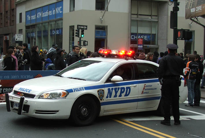 NYPD Traffic Police Car