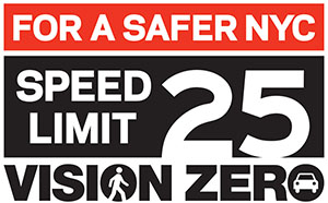 Speed Limit 25 - Vision Zero