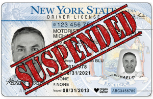 a suspended license in New York
