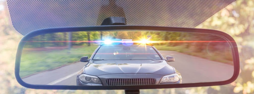 pulled over by police