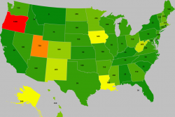 texting while driving ticket by state