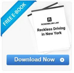 reckless driving in NY ebook