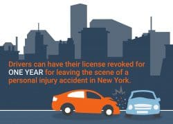leaving the scene of an accident with personal injury