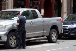 NYC gives Connecticut Truck Ticket