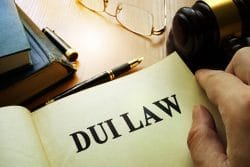 lawyer dui law page